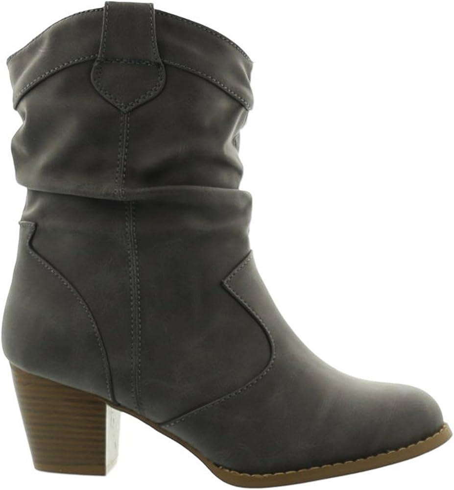King of Shoes Botines Cowboy Western Botas Boots Avispas Botas ...
