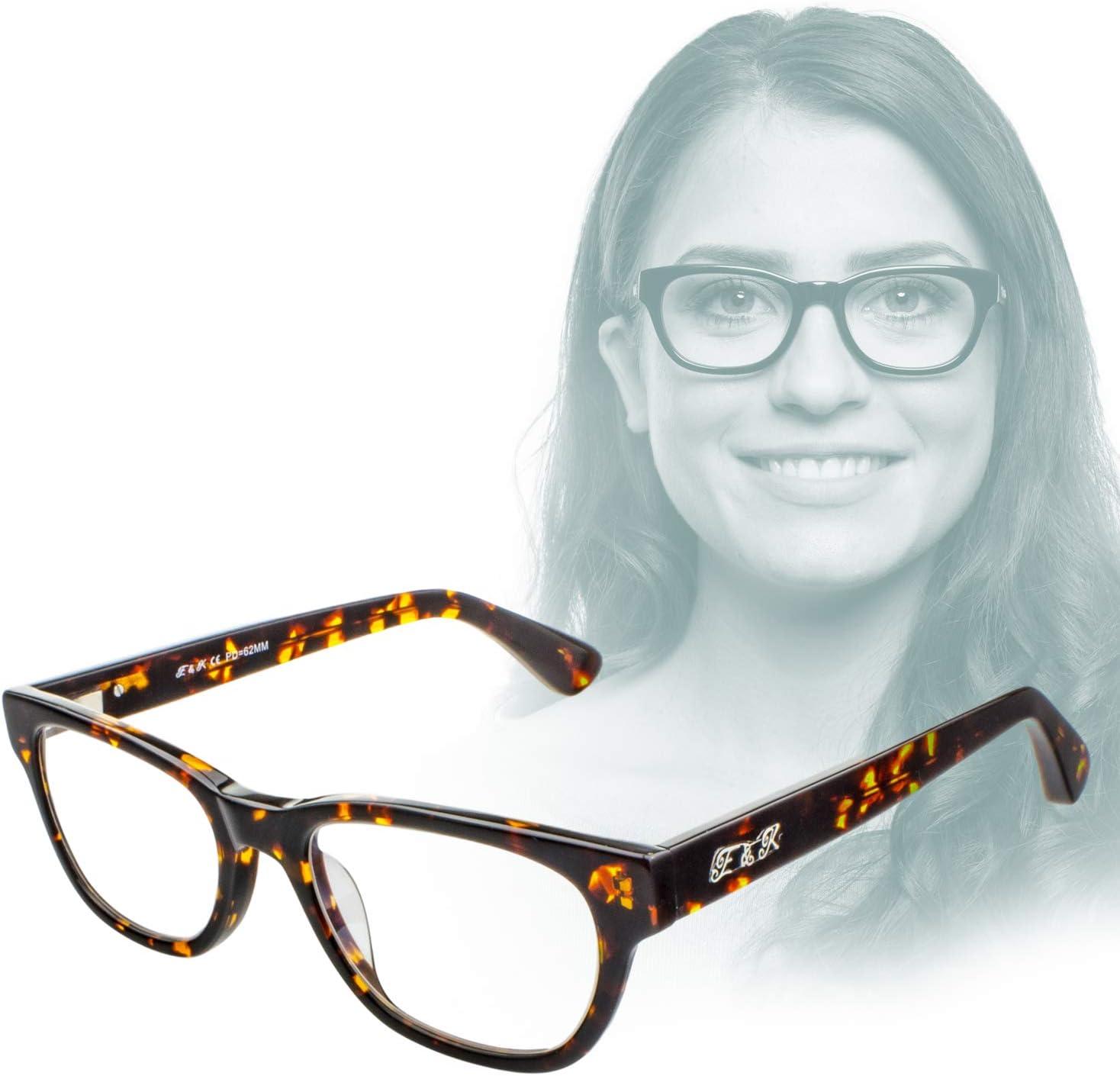 Gafas de Acetato Modernas antirreflejante Edison /& King Gafas de Lectura Endless