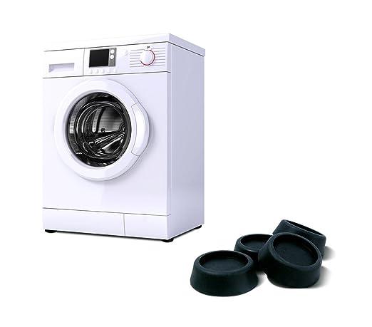 370650 Set de 4 almohadillas anti-vibración para lavadoras y ...