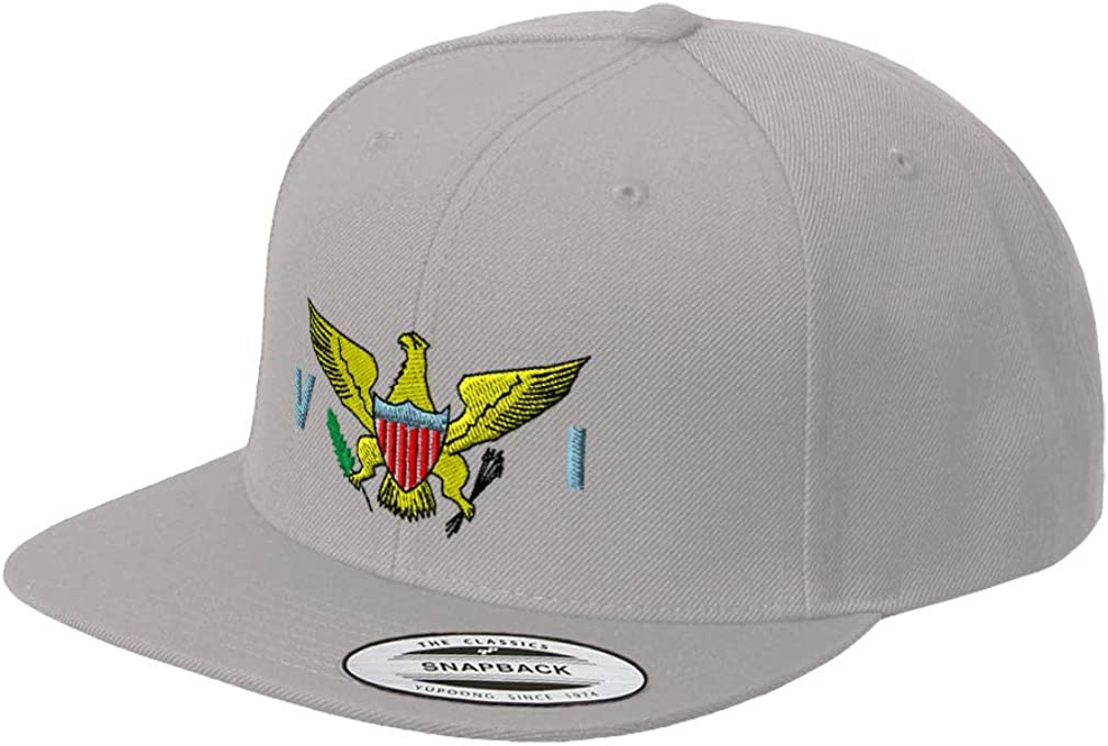 Custom Snapback Baseball Hat Mascot Eagles Embroidery Animal Name Acrylic Cap
