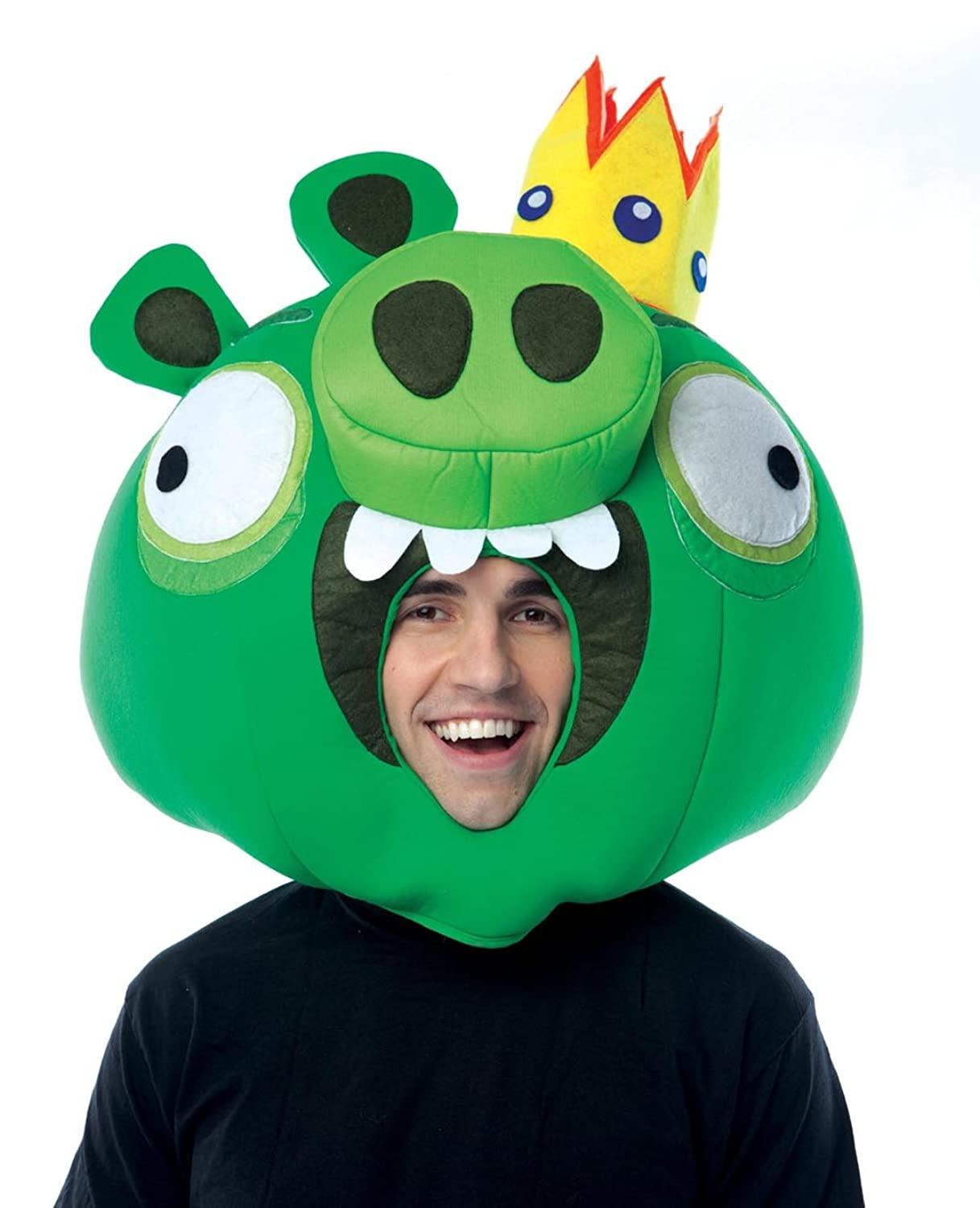 Amazon.com: Paper Magic Group Angry Birds King Pig Green Mask ...
