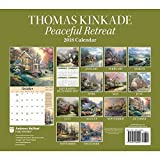 img - for Thomas Kinkade Special Collector's Edition 2018 Deluxe Wall Calendar: Peaceful Retreat book / textbook / text book