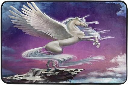 Love Horse Purple Bath Mat