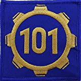 postal service patch - Vault 101 Fallout Style Patch Cosplay Velcro 3