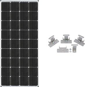 Zamp Solar Legacy Series 170-Watt Roof Mount Solar Panel Expansion Kit. Additional Solar Power for Off-Grid RV Battery Charging - KIT1009