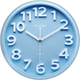 Plumeet 13'' Large Wall Clock - Silent Non-Ticking Quartz Wall Clocks for Living Room Decor - Modern Style Suitable for…