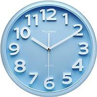 Reloj de pared grande de 33 cm, relojes