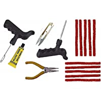 Jagger Tubeless Tyre Puncture Repair Kit with piller and solution