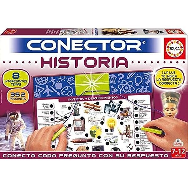 Educa- Conector Historia Juego Educativo para niños, a Partir de 7 años (17705): Amazon.es: Juguetes y juegos