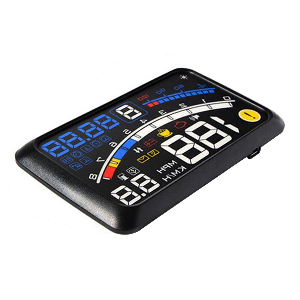 Generic 5.5' HD HUD Auto Head Up Display OBDII EUOBD Digitale Auto Accessori MagiDeal STK0152004940