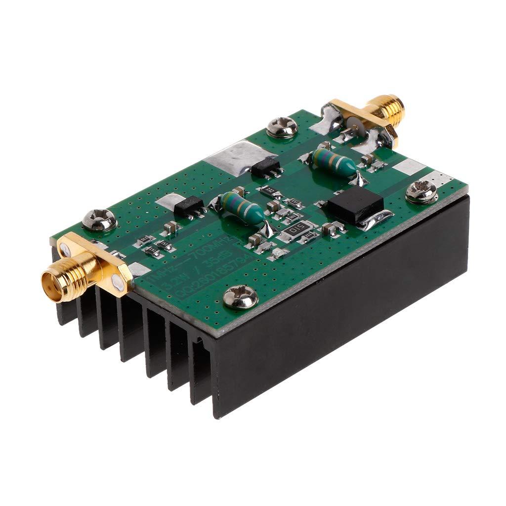 BIlinli Gain 35dB de transmetteur HF UHF FM de Module damplificateur de Puissance de 1MHz-700MHz 3.2W RF pour Le radioamateur