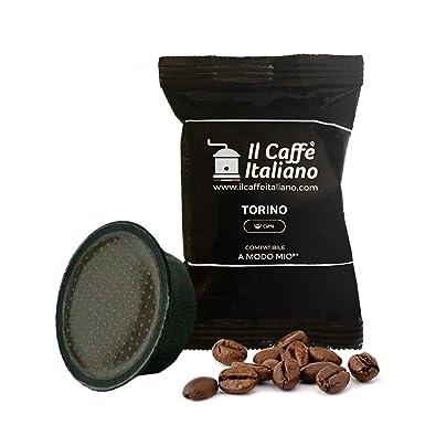 100 cápsulas de café Lavazza compatibles A modo mio - Mezcla Torino - Il caffè italiano