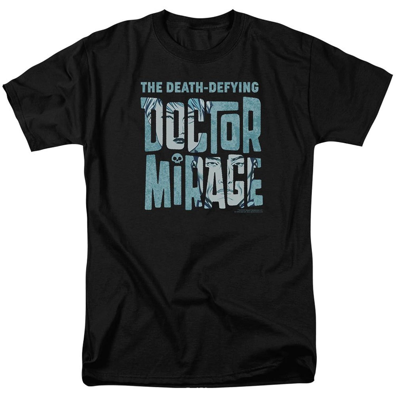 The Death-Defying Doctor Mirage Valiant Comics Character Logo Adult T-Shirt Tee
