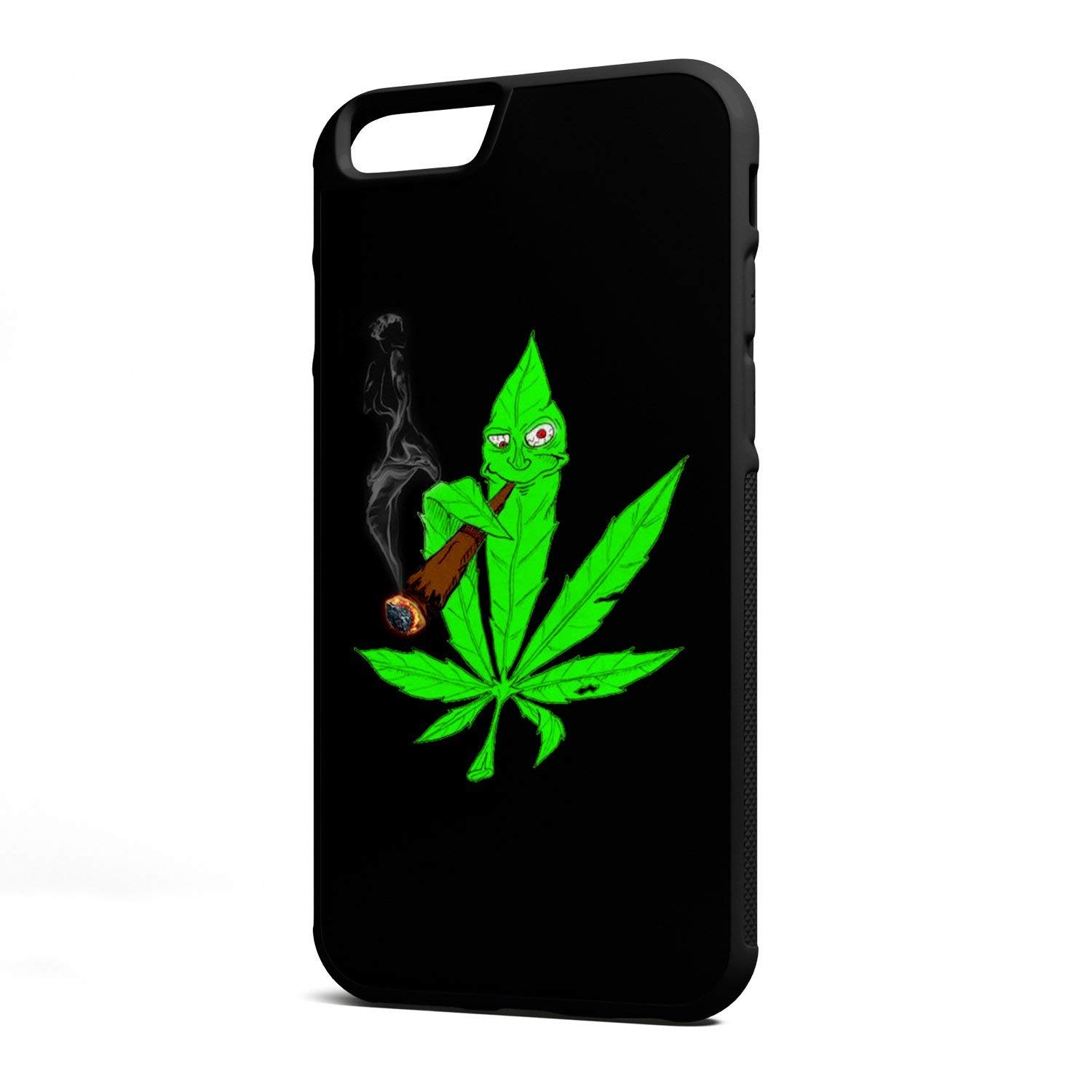 Flying Foxes Cases – Weed Marijuana Cannabis Kush-Hard Rubber Phone case for Apple iPhone Xs MAX (2018 Model) Made and Shipped from The USA