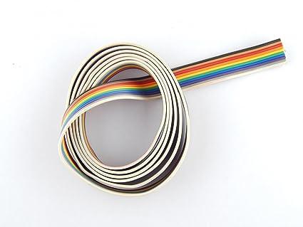 Robo India Multi Colored Multi Strand Wire Ribbon Cable 4 Metre ...