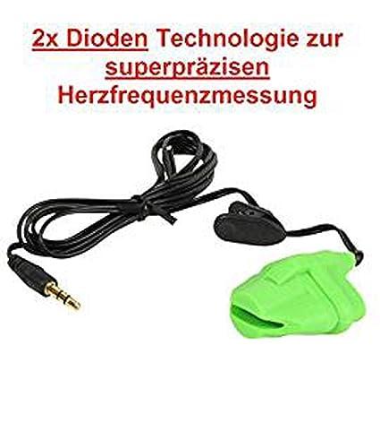 Herzfrequenzmessung Cardio ear clip Puls Cardio Puls OHRCLIP f/ür Pulsmessung an KETTLER Ger/äten Pulsmesser