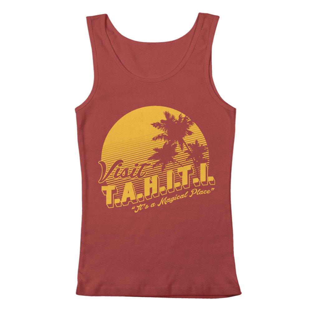 GEEK TEEZ Visit Tahiti Mens Tank Top