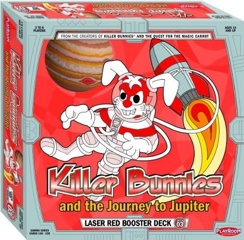 Bunnies Booster Killer Deck - Killer Bunnies and the Journey to Jupiter Red Booster Deck
