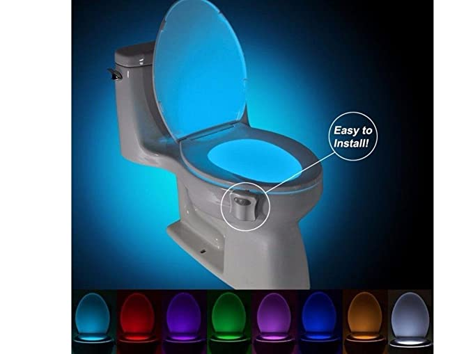 Cod toiled luce led per toilet rgb con sensore