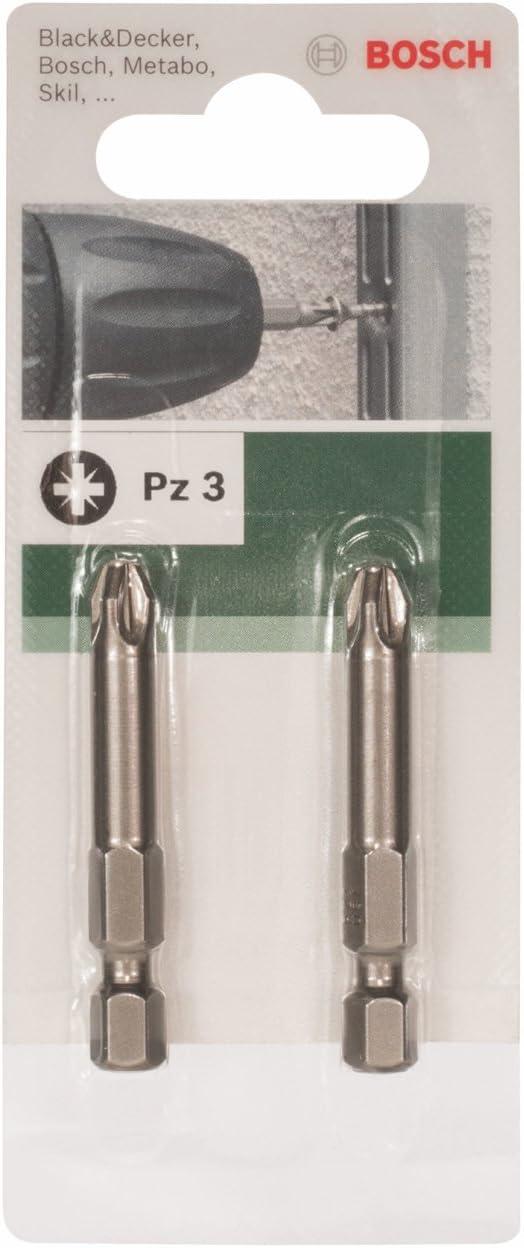 Bosch 2609255930 Embout de tournevis Pozidriv PZ3 49 mm Lot de 2