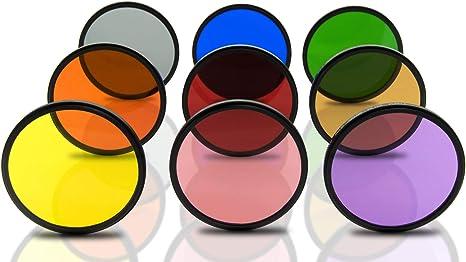 Opteka 72 mm HD, multirrecubrimiento color sólido especial efecto ...