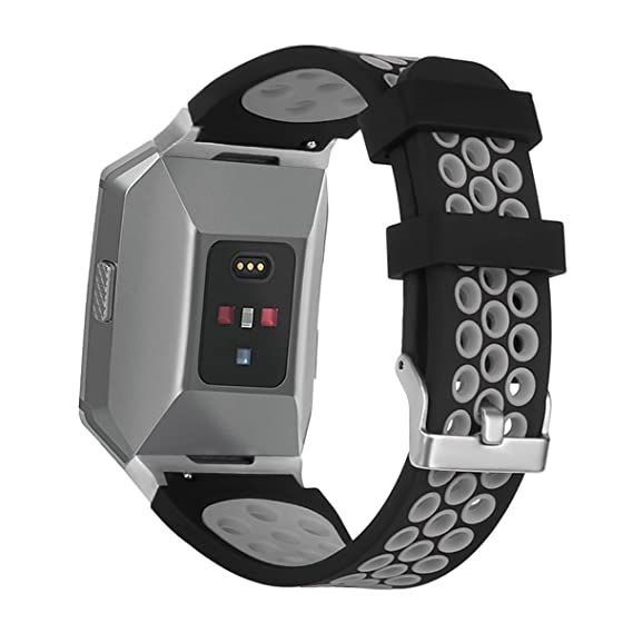 Amazon.com: Soft Silicone Sport Strap for Fitbit Ionic ...