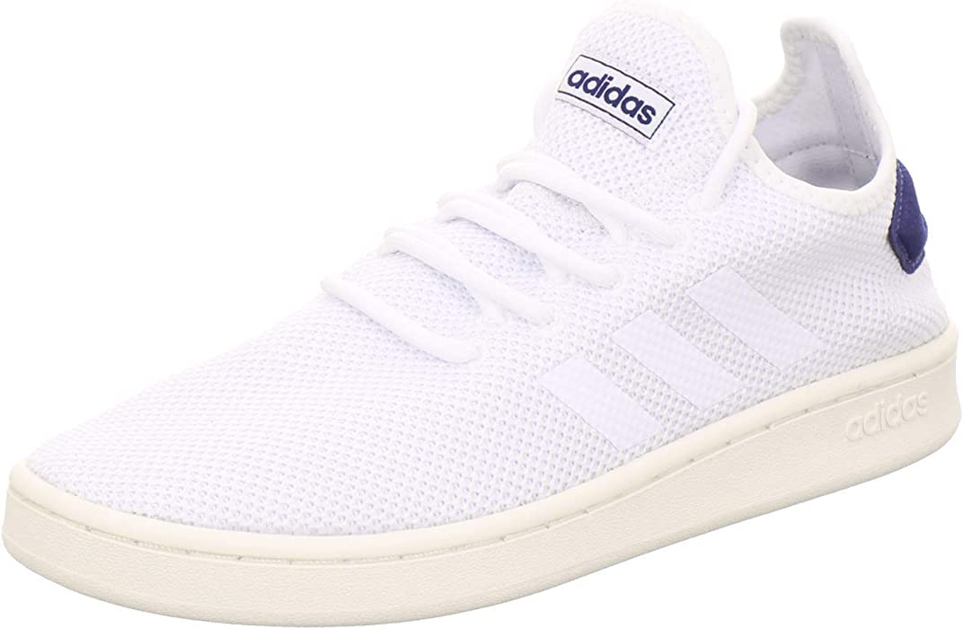 best service bdf37 65d60 adidas Court Adapt Trainers - Mens - White White Dark Blue - UK Size