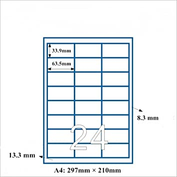 amazon fba label size
