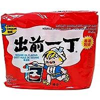 Nissin Sesame Oil Flavour Instant Noodle 5 Packets, 500 g, Sesame Oil