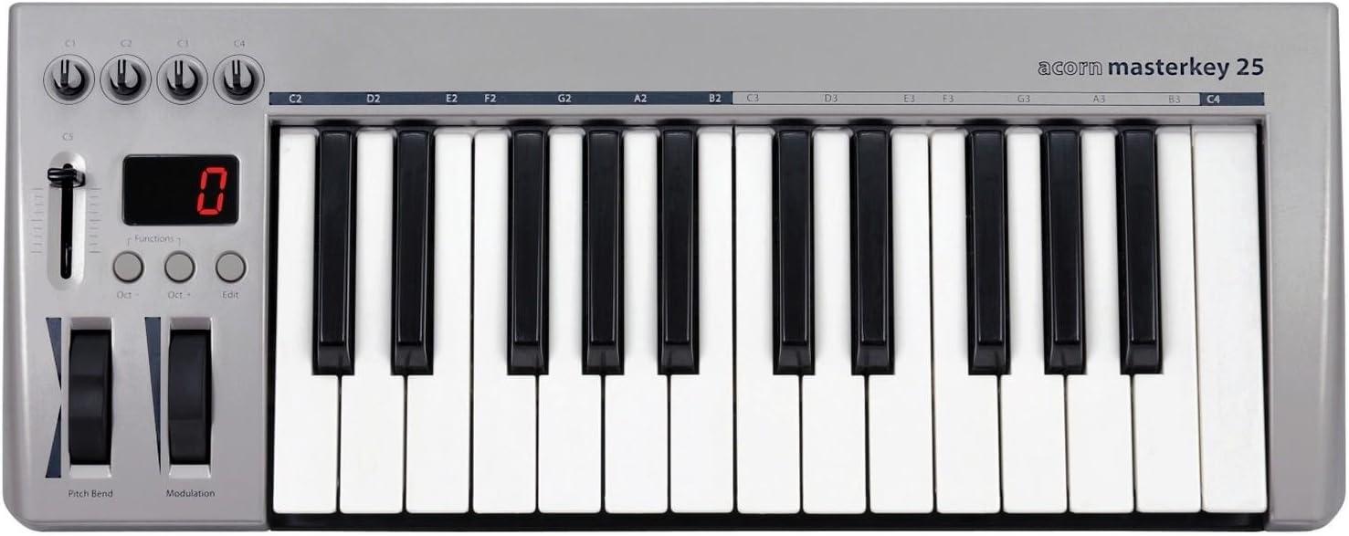Acorn MIDI Controller Keyboard (Masterkey 25)