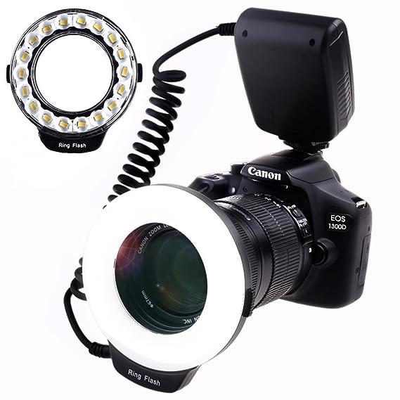 Review SAMTIAN Macro Ring Flash
