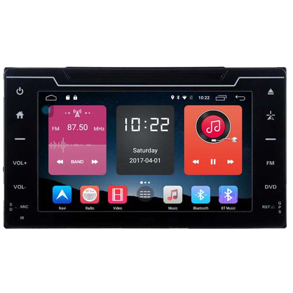 autosion in Dash Android 6.0車DVDプレーヤーSAT NAVラジオヘッドユニットGPSナビゲーションステレオToyotaカローラ用Auris 2017年2018 4 GサポートBluetooth SD USBラジオWiFi DVR 1080p B077ZK9NLP