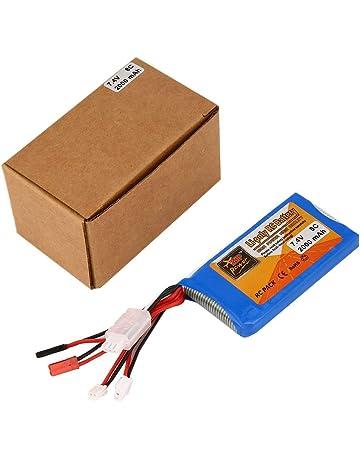Fantasyworld X7 Recargable Li-Poli batería del Control Remoto 7.4V 2000mAh 8C Actualiza RC