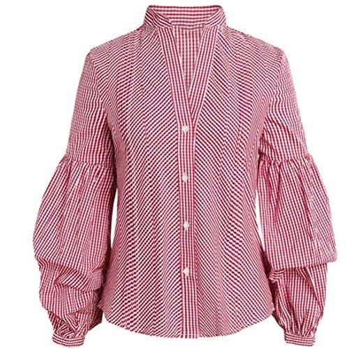 [S-XL] レディース Tシャツ ランタンスリーブ ブラウス シャツ 長袖 トップス おしゃれ ゆったり カジュアル 人気 高品質 快適 薄手 ホット製品 通勤 通学
