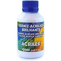 Verniz Acrílico Brilhante, Acrilex, Incolor, 100 ml