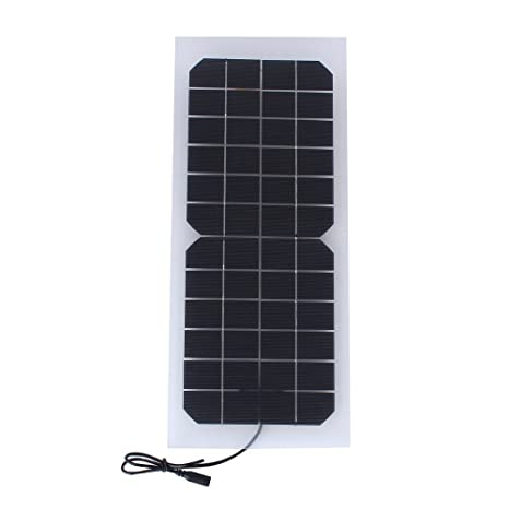 Buy Generic 10W 12V Semi-flexible Transparent Solar Cell Panel with