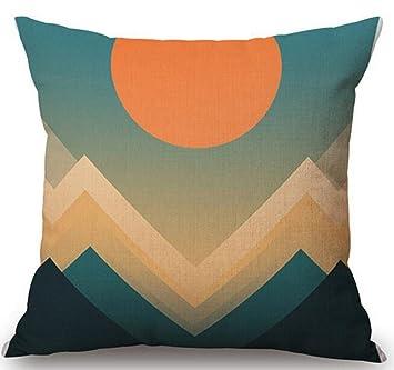 Amazon.com: QINU KEONU - Funda de cojín decorativa para sofá ...