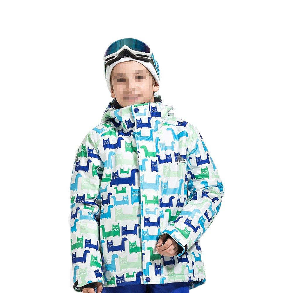 Deylaying 冬 アウトドア スポーツ 防水 職業 スキー ジャケット色雪コート 暖かい ために子供 B077RS4GTT 120|Color 7 Color 7 120