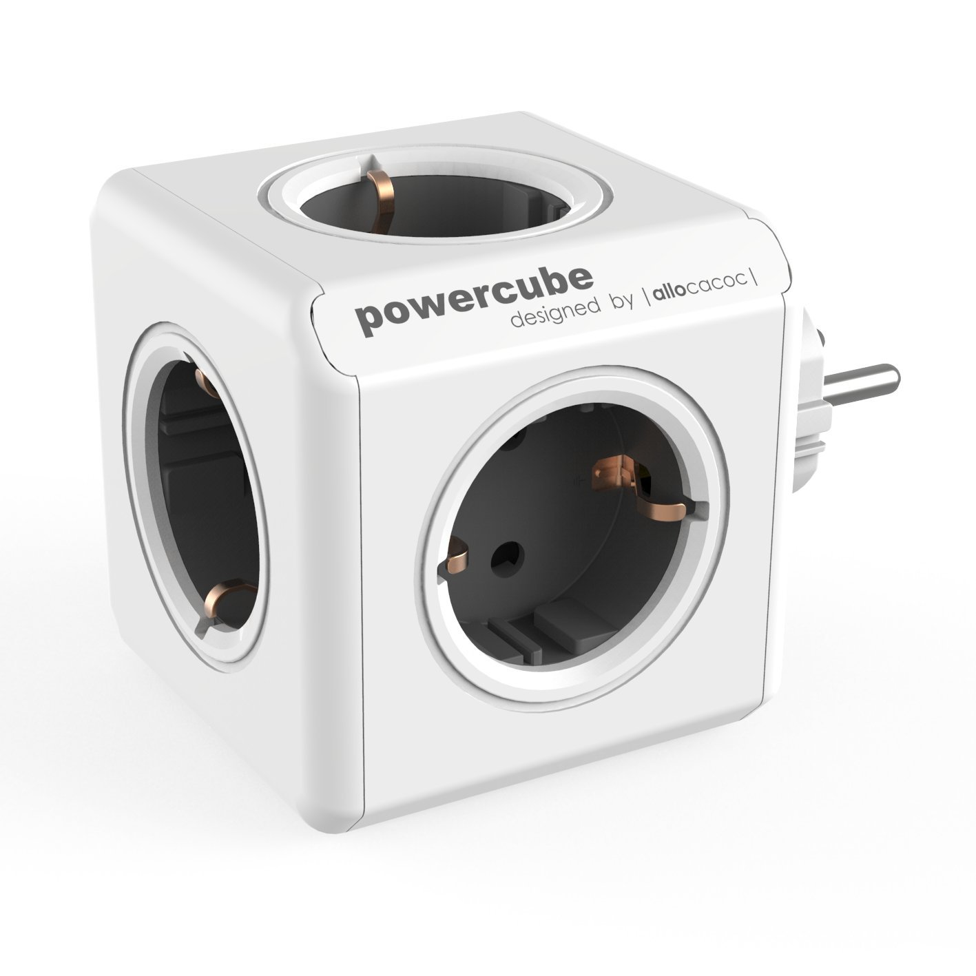 Allocacoc 1100GY/DEORPC - PowerCube (Original) 5 Salidas Gris Oscuro product image