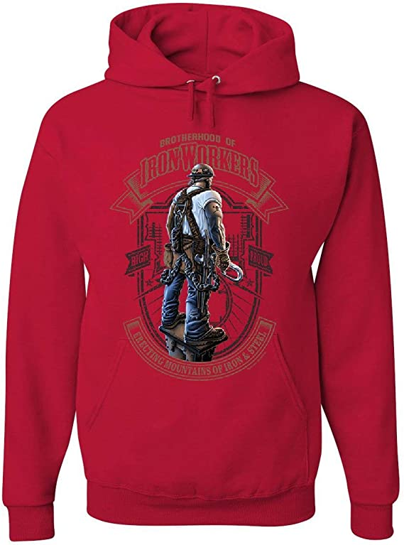 Ironworkers Hoodie Ironworker The Original Brotherhood Sweatshirt All Sizes