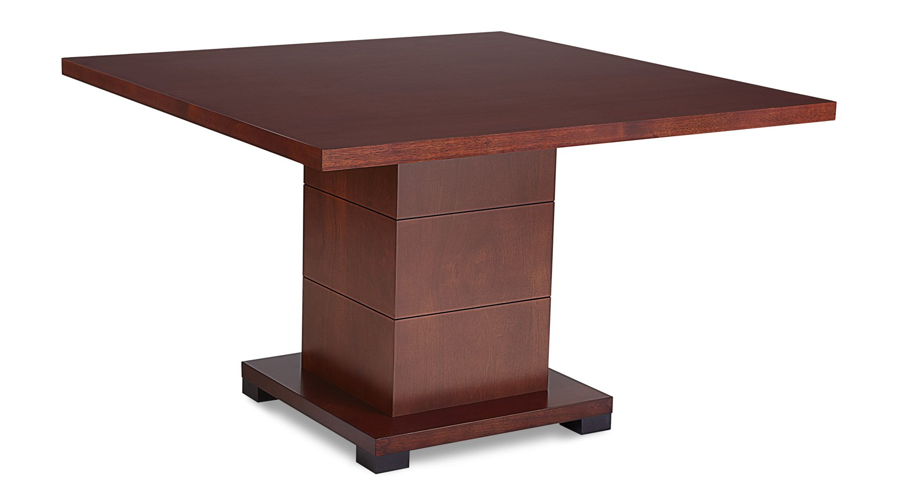 Ford Executive Modern Conference Table in Light Wood - Square