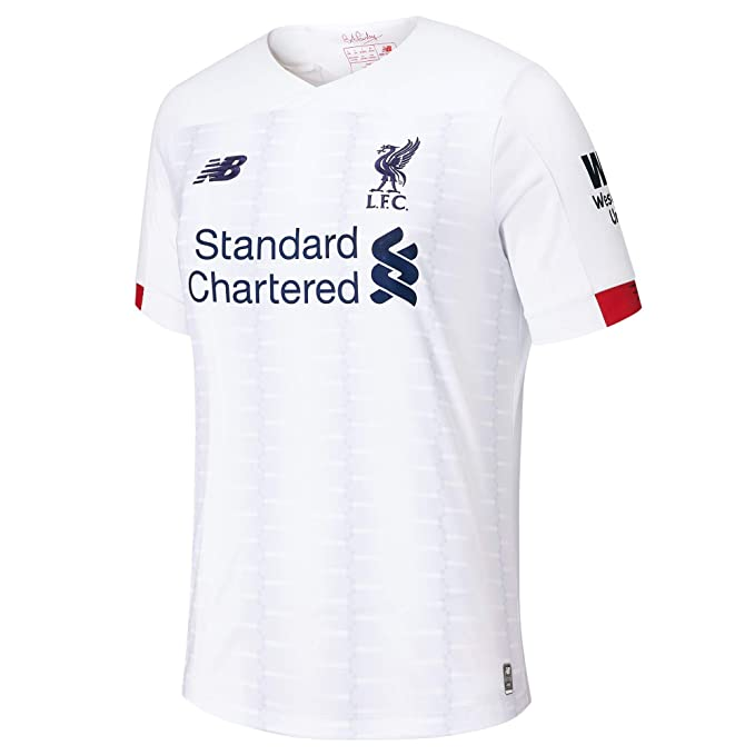 7ffa6d6ca59b8 New Balance Men's Soccer Liverpool Away Jersey