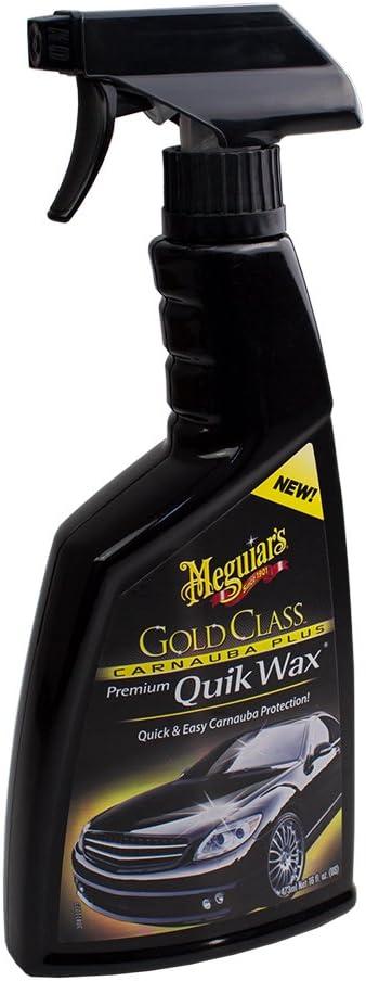 Meguiar S 2x Meguiars 650174 Gold Class Carnauba Plus Quik Wax Schnellwachs Spray 473ml Auto