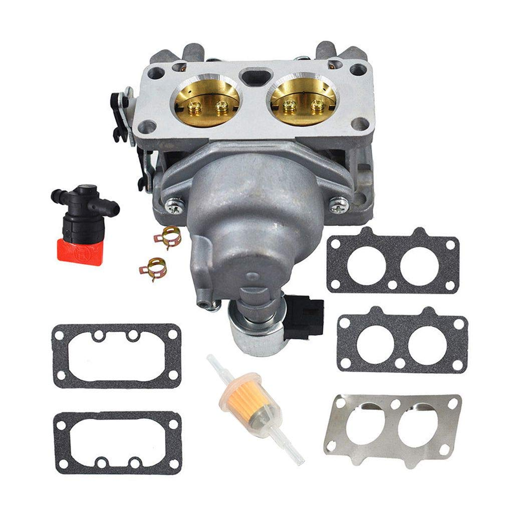 Topker Engine Accessories Carburetor Replacement for Kawasaki FX751V 15004-0939 Fuel Filter Gaskets Kit by Topker (Image #2)
