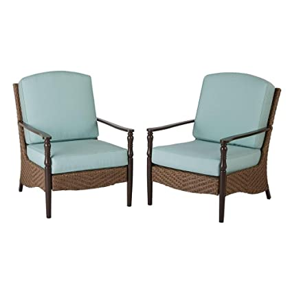 Exceptional Bolingbrook Lounge Patio Chair (2 Pack)