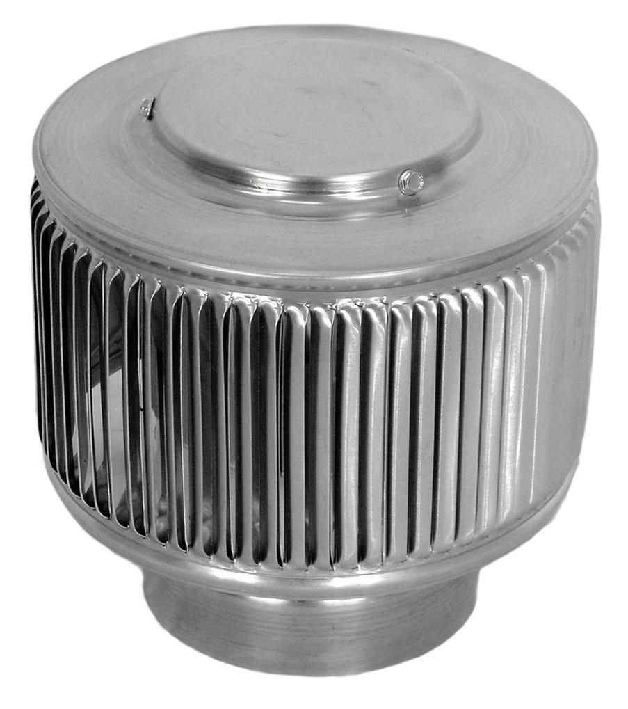 Aura PVC Pipe Cap 4 Inch Diameter (Mill Finish)