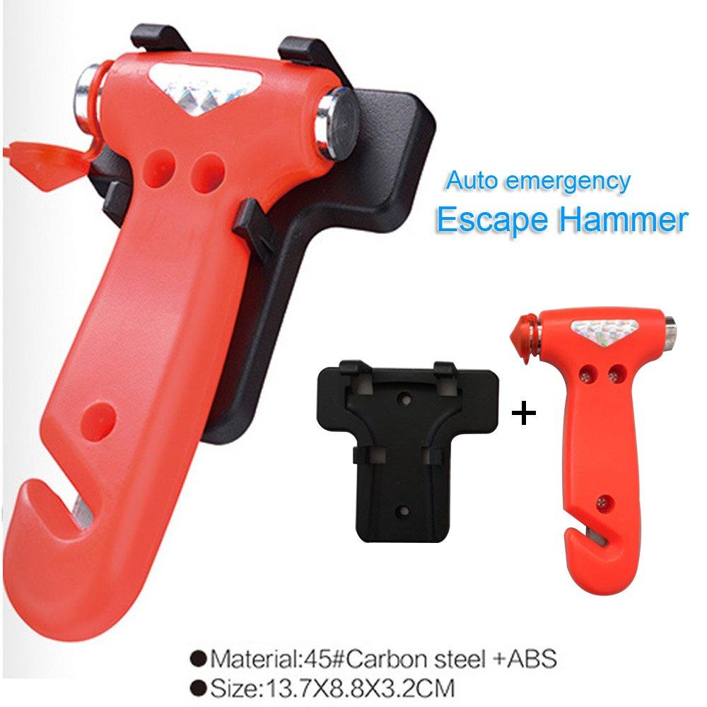2 pcs Auto Emergency Escape Hammer