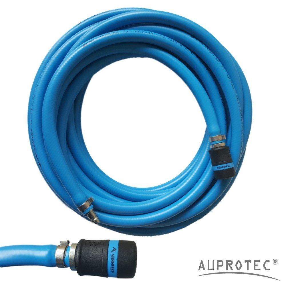 Schnellkupplung Auswahl: AUPROTEC Sicherheits Druckluftschlauch Set 20m Meter, Innen /Ø 13mm