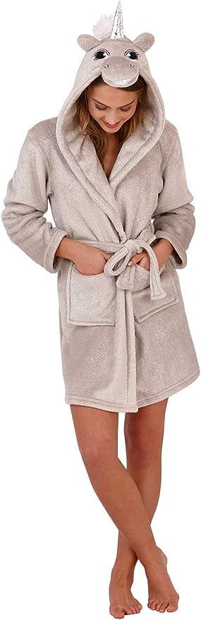 TALLA XL. Loungeable Ladies Luxury Forro Polar Super Suave Túnica