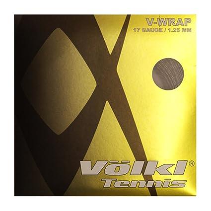 Amazon.com : VOLKL V24023:SET V-Wrap 17G Tennis String Orange Spiral : Sports & Outdoors